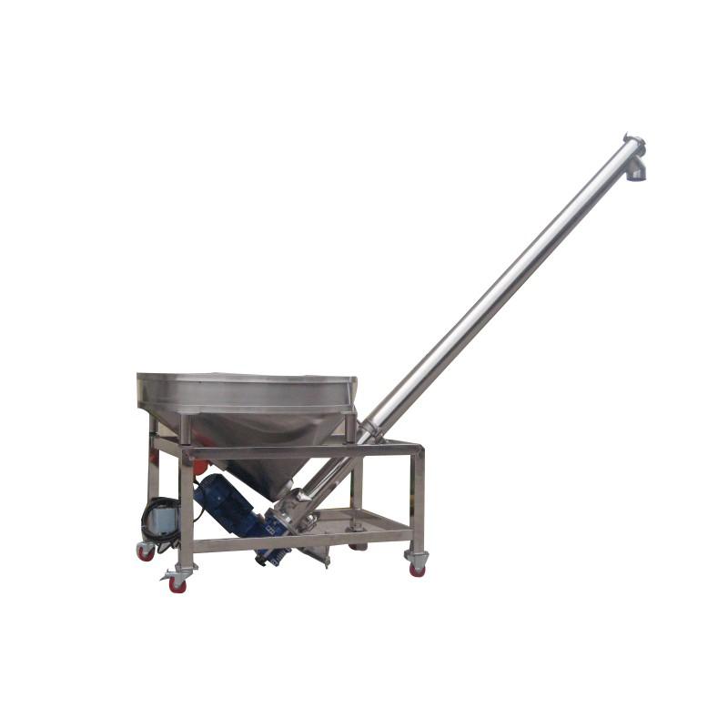 Auger food conveyor - Big hopper model