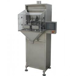 envasadora semiautomática para productos granulados - 2 cabezas, bolsita version