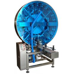 Machine stérilisatrice de boîtes vides
