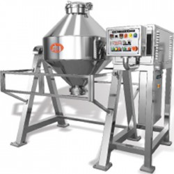 Bicone powder mixer