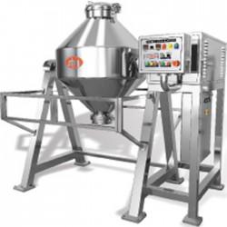 Bicone powder mixer