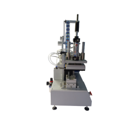 Semi-automatic labeling machine for flat surfaces SL-PS - Side view