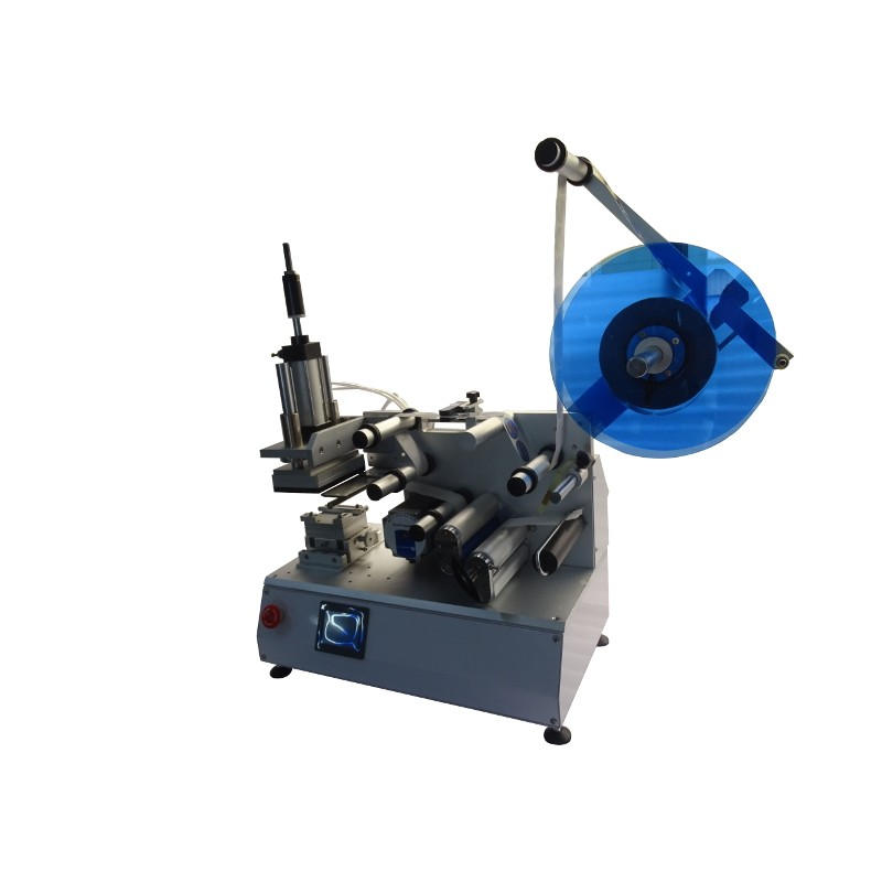 Semi-automatic labeling machine for flat surfaces SL-PS