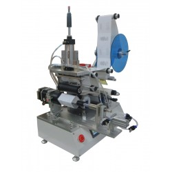 Semi-automatic labeling machine SL-360 for 360° labeling - Flat surface labeling