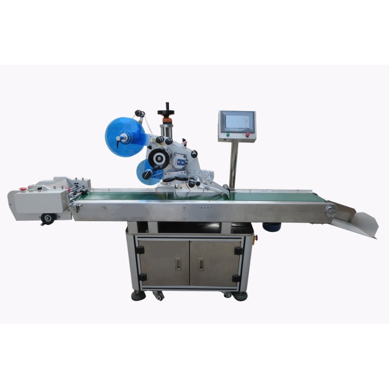 AL-V-2 automatic labeling machine for flat labeling