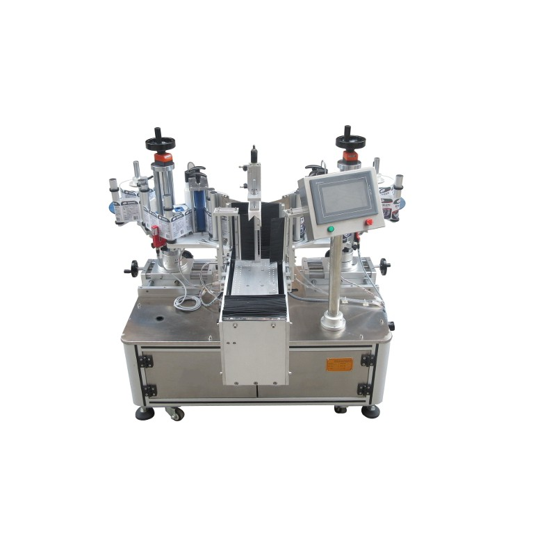 SL-RV Semi-Automatic double-sided labeling machine for flat surfaces