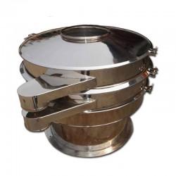 Tamizadora vibratoria giratoria - Doble cape